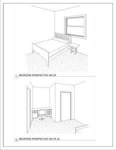 2 Bedroom/1 Bathroom Apartment